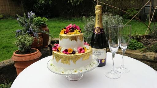 Lemon and Elderflower Royal Wedding Cake