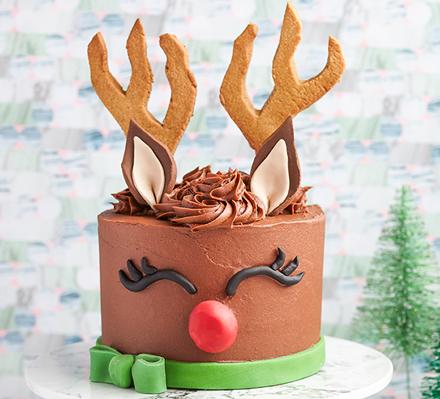 Magical reindeer cake
